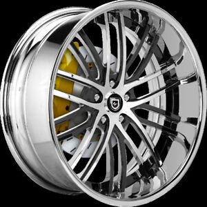 "LEXANI CUSTOM RIMS 20"" - SET OF 4"