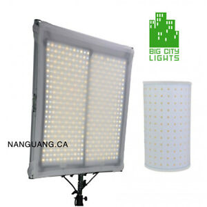 Hot New Kit - 2 Flexible bi-colour LED Panel Kit with stand!
