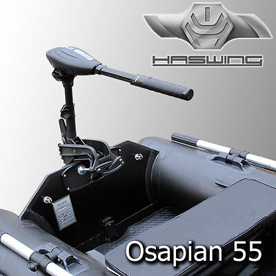HASWING Osapian 55 Elektro Außenborder 660W Aussenbordmotor Elektro Bootsmotor