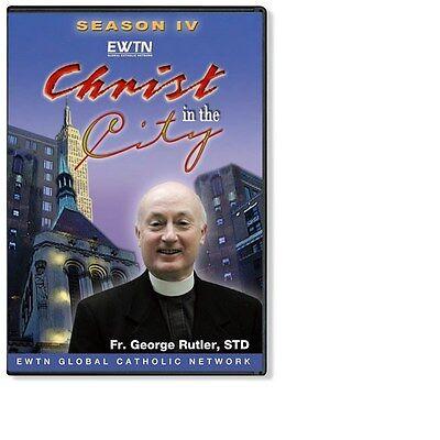 Christ In The City Season  4 Fr Rutler Ewtn Network Dvd