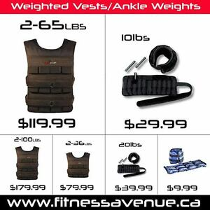 Adjustable Athletic Weighted Vests – Available up to 100lbs
