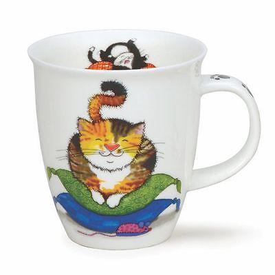 Dunoon tazas de té Comfy Cats luz tortuga puerta concha 0,4l café Nevis
