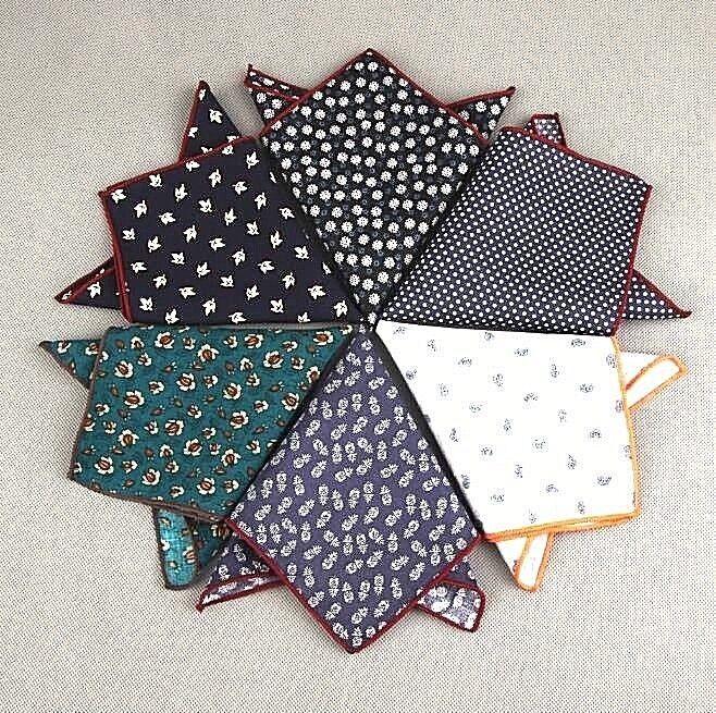fazzoletti da taschino uomo pochette elegante foulard varie fantasie