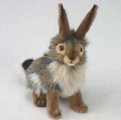 Hansa Toys Usa Rabbit Black Tail 3754 Bunny Easter Basket Gift Stuffed Animal