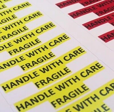 Fragile Handle With Care Stickers Mailing Shipping Package Envelope Labels