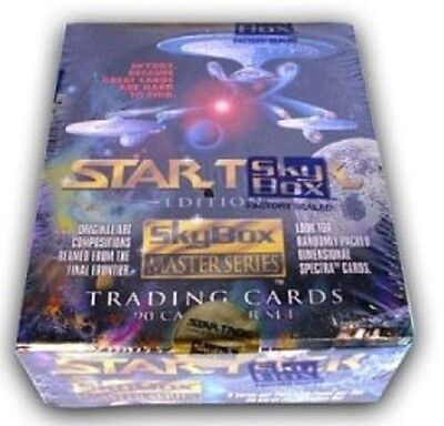 Star Trek Master Series 1 Trading Cards 36 Pack Box
