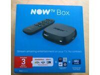 Now TV digital media streamer (Brand New In Box)