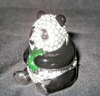1997 ESTEE LAUDER PLEASURE PANDA SOLID PERFUME MIB