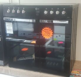NEW FLAVEL MLN9CRK 90cm Electric Ceramic Range Cooker with WARRANTY | RRP £650