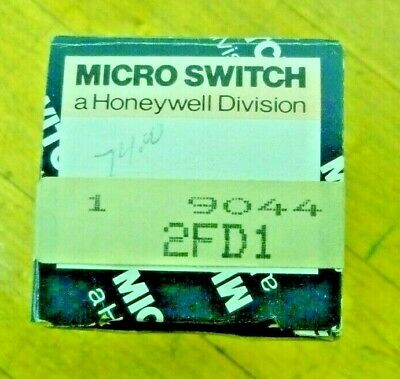 Honeywell Micro Switch 2fd1 8-pin Relay