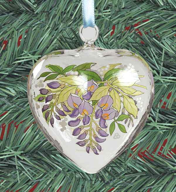 Replacements Hutschenreuther Ornaments 2006 Crystal Spring Heart 7186288
