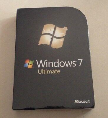 MS Windows 7 Ultimate Vollversion deutsch 32+64 Bit GLC-00205  (Windows 7 Ultimate Vollversion)