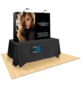 Table Top Fabric Display Booth