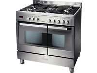 Electrolux EKM90460X Dual Fuel cooker. Hardly used
