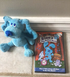 Blues Clues Blue's Big Musical Movie NEW  and TY Plush