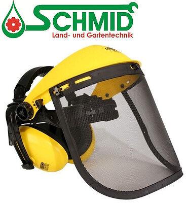 Gesichtsschutz, Gehörschutzkombi mit Netzvisier von OREGON, Q515061