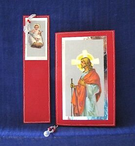 'Jesus Baby and Man' Bookmark and Notebook with Handmade Paper Clifton Beach Cairns City Preview