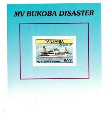 Tanzania 1997 - MV Bukoba Disaster - Souvenir Sheet - MNH