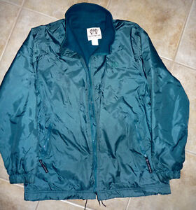 Wind/Rain Nylon/Fleece Jacket : Size 6, Small : Excellent Cond