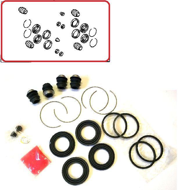 FRONT BRAKE CALIPER REPAIR KIT FOR LS400 SC300 SC400 SC430 TOYOTA SOARER CELSIOR