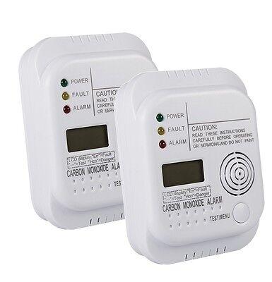2x Kohlenmonoxidmelder DECK CO 23481 EN50291 Gas Melder Kohlenmonoxid