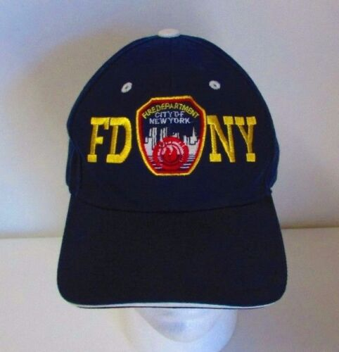 FDNY World Trade Center Pre 9/11 Twin Towers Baseball Cap Hat