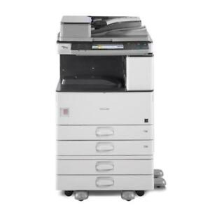Used Copier Ricoh MP 2852  B/W photocopier Mint Condition with warranty
