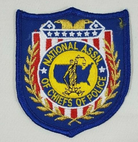 NATIONAL ASSOCIATION OF CHIEFS OF POLICE SHOULDER PATCH