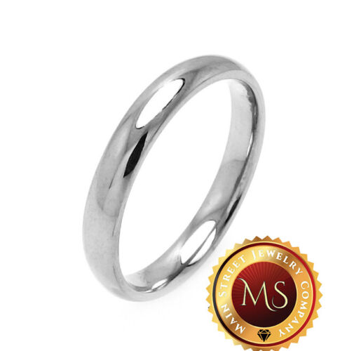 925 Sterling Silver Plain Band Rings 2mm-10mm Sizes 5-13