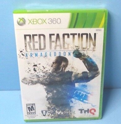 Red Faction: Armageddon (Microsoft Xbox 360, 2011) BRAND NEW FACTORY SEALED for sale  Shipping to Nigeria
