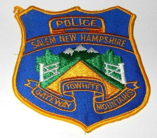 Salem New Hampshire Police Shoulder Patch