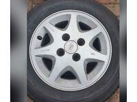 Ford 7 spoke Alloys
