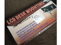 LCD duel screen monitor mounting bracket