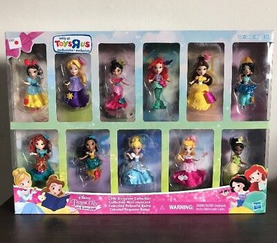 Disney Princess Little Kingdom Collection Set Toys R Us EXCLUSIVE TRU HTF