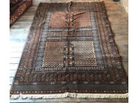 Pure New Wool Woven Rug- Made In Russia