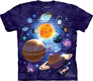 New You Are Here Planets Space Solar System The Mountain T ...