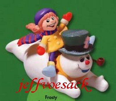 "Frosty the Snowman ""Belly Gliding"" American Greetings Ornament"