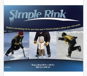 SIMPLE RINK Backyard Ice Rink *NEW*