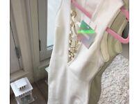 White Missguided Bandage Dress