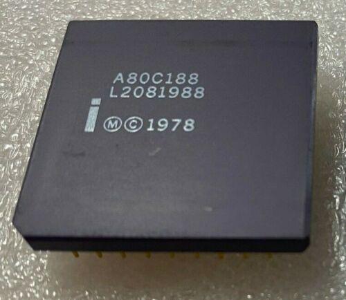 A80C188 INTEL CPGA MICROPROCESSOR CPU X 1 PC.