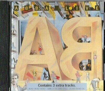 ABBA LIVE CD ALBUM