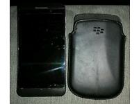 Blackberry z10 mobile.