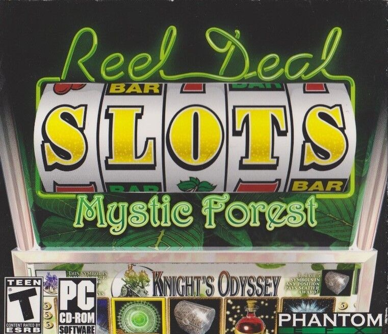 Computer Games - Reel Deal Slots Mystic Forest PC Games Windows 10 8 7 XP Computer Games machine
