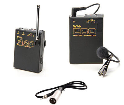 Pro PD170 WLM XLR M wireless lavalier mic for better Sony PD150 camcorder (Best Wireless Mics For Camcorders)