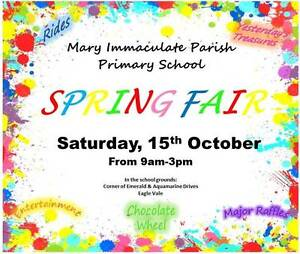 Mary Immaculate Parish Primary School Spring Fair Eagle Vale Campbelltown Area Preview