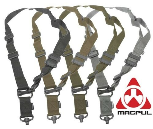Magpul MS4 DUAL QD Multi-Mission Two Point Sling MAG518 Black Coyote Gray Green