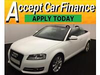 Audi A3 Cabriolet 1.6TDI ( 105ps ) CR 2012MY Sport FROM £51 PER WEEK!