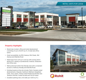 Looking for a GYM or FITNESS FACILITY TENANT!