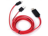 MHL Micro USB to HDMI Cable