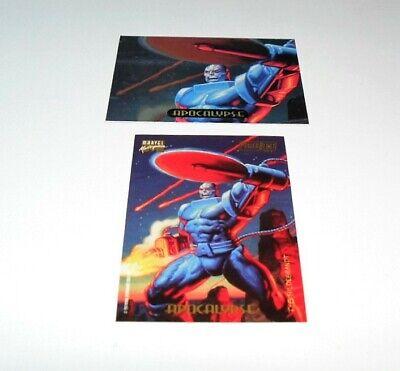 1994 FLEER MARVEL POWER BLAST SINGLE FOIL CARD #APOCALYPSE Single Power Foil Card